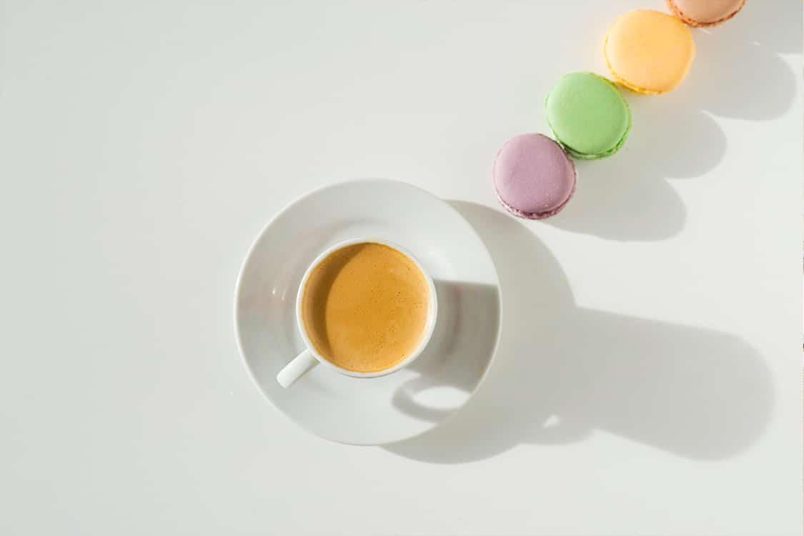 Morning coffee for social media